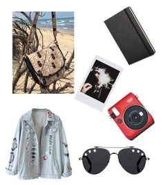 """Voglia di sole.."" by explorer-14475809374 on Polyvore featuring Fuji, Givenchy, Fujifilm e Moleskine"
