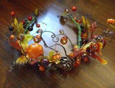 The Crown of Demeter Harvest Goddess Handmade от BelandariaDesigns Mabon, Samhain, Autumnal Equinox, Fall Halloween, Halloween Ideas, Halloween Costumes, Hallows Eve, Wiccan, Faeries