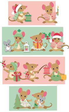 Ik krijg nogal eens de vraag hoe de oortjes van de muizen Collectables nou precies geplakt moeten worden. Ik zal het proberen uit te legge...
