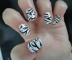 black wedding nail art - Recherche Google