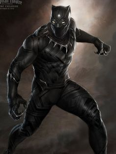 Marvel's 'Black Panther' movie, out Nov. 3, 2017, will be the studio's first to headline a black superhero.