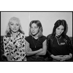 Debbie Harry, Suzi Quatro and Joan Jett