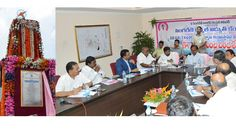 Chief Minister KCR laid the foundation stone for setting up of third unit of 600 MW power plant at Pegadapally near Jaipur in Adilabad district on Tuesday.
