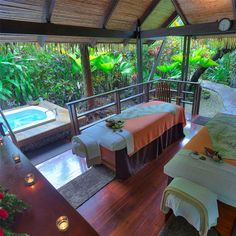 Take a break & treat yourself! The Spa at Tabacon
