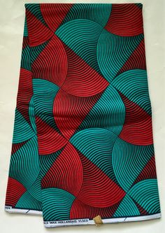 House of Mami Wata African Print Fabrics https://www.etsy.com/listing/481673510/african-print-fabric-ankara-red-teal