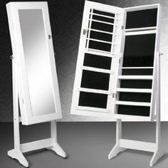 Meuble miroir avec rangement pour bijoux 3 en 1,,,,,pour les ...