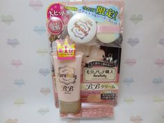 Sana Pore Putty BB Cream Limited Set Review | chichicho~ nail art addicts