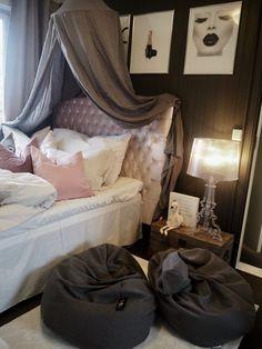 Fra blått til flott. Sweet Girls, Camilla, Kids Room, Victoria, Children, Bed, Furniture, Home Decor, Cottage Chic