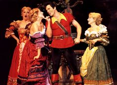 Kevin Tarte as Gaston (Beauty and the beast)