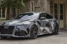 #Audi RS 7 with #Vorsteiner V-FF 103 Flow Forged #wheels #camo #style #design #cars #supercars #sportscars #turbo #luxury #rims #exotics More from Vorsteiner >> http://www.motoringexposure.com/aftermarket-tuned/vorsteiner-group/
