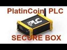PlatinCoin ПЛАТИНКОИН PLC SECURE BOX