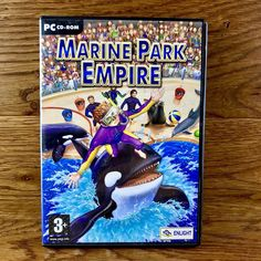 Marine Park Empire Pc Cd Rom Game aquatic fun simulation windows 98 2000 me xp Game Sales, My Ebay, Empire, Windows 98, Games, Park, Rome, Gaming
