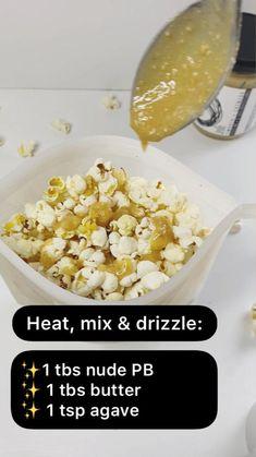 Gluten Free Recipes, Keto Recipes, Snack Recipes, Healthy Recipes, Healthy Sweets, Healthy Snacks, Homemade Popcorn Recipes, Beach Picnic Foods, Cooking Popcorn