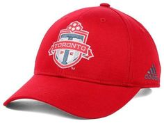 Toronto FC hat MLS Adidas Soccer new with stickers U-Sector Red Patch Boys #ToroontoFC #RedPatchBoys #USector #MLS #MLSHats #Adidas #AdidasHats #MajorLeagueSoccer #Soccer #MarvelousMarvs