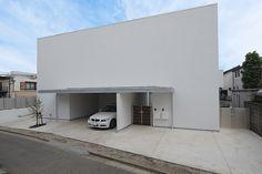 中庭のある家|デザイナーズハウス・注文建築・自由設計・建築家|アーキッシュギャラリー(東京・名古屋・大阪)Achish&Gallery #白い家 #デザイナーズハウス