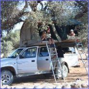 rondreizen kinderen safari afrika Namibië met 4x4 met daktent