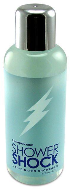 Shower Shock Caffeinated Body Wash