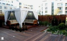 Ogród nowoczesny - Ogród - Styl Minimalistyczny - Studio projektowe INSPIRACJE