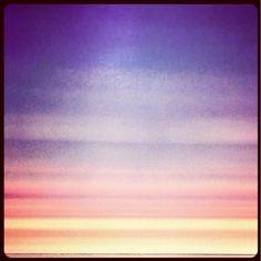 Photo by Olivia Chapé; #Minimal #Sunset #Colours