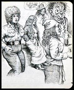 Robert R. Crumb - Sketches