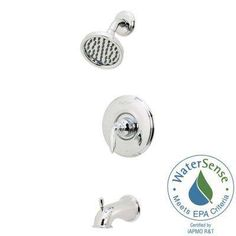 Avalon Single-Handle 1-Spray Tub and Shower Faucet in Polished Chrome