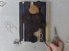 "Hello! Yulianna Efremova here and I'm going to show you how to make a mixed media canvas collage using zippers and Magical shakers from Lindy's.  I'll walk you through how to create this step by step. I used all colors of Magical shaker 10-pack  to create my mixed media canvas.   Steps for Creating your own … More Mixed Media Collage ""Zipper"""