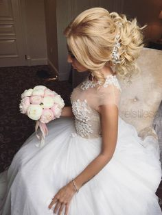 Elstile Long Wedding Hairstyle Ideas 1