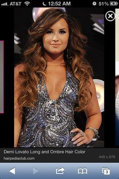 Demi lovato hair!!