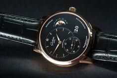 """Hands On The Glashutte Original PanoMaticLunar Watch"" via @watchville"