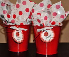 PRINTABLE FAVOR TAGS Ladybug Red Party by MemorableMomentsSt, $5.00