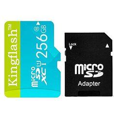 Kingflash 256GB Micro SD Card Class10 Rose Memory Card Flash Card Memory Microsd for Smartphone Tablet PC (256GB, Blue) #Kingflash #Micro #Card #Class #Rose #Memory #Flash #Microsd #Smartphone #Tablet #(GB, #Blue)