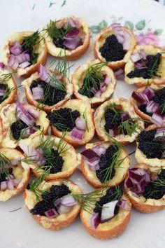 Tips på nyårssnittar Fish Recipes, Baby Food Recipes, Cake Recipes, Food Baby, Tapas, Prosecco Cocktails, Deli, Vegetable Pizza, Love Food