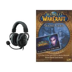 World of Warcraft 60 Day Game Time [Digital Code] and Headset Bundle @ niftywarehouse.com #NiftyWarehouse #WoW #WorldOfWarcraft #Warcraft #Gaming