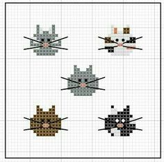 Thrilling Designing Your Own Cross Stitch Embroidery Patterns Ideas. Exhilarating Designing Your Own Cross Stitch Embroidery Patterns Ideas. Cat Cross Stitches, Cross Stitch Bookmarks, Cross Stitch Needles, Cross Stitch Cards, Cross Stitch Animals, Cross Stitching, Cross Stitch Embroidery, Embroidery Patterns, Hand Embroidery
