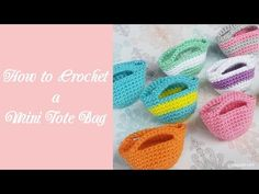 How to Crochet a Mini Tote Bag - Crafty Guild