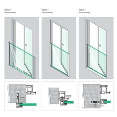 Juliette Balcony is suitable for three different scenarios such as onto a façade, window frame or the reveals beside the window. Provides uninterrupted views and high fall protection. Glass Juliet Balcony, Juliette Balcony, Glass Balcony, Glass Balustrade, Glass Railing, Bedroom Balcony, Bedroom Loft, Exterior Wall Cladding, Classy Living Room