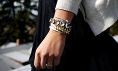 Un bracelet hyper stylisé à partir de presque rien!