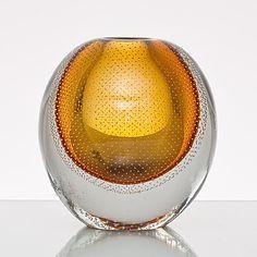 Nordic Design, Scandinavian Design, Art Of Glass, Crystal Vase, Glass Ceramic, Glass Containers, Amber Glass, Glass Design, Stained Glass