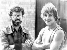 Apparently, Luke Skywalker himself, Mark Hamill, was privy to the news that George Lucas was planning on making a new Star Wars trilogy before all of Star Wars I, Film Star Wars, Mark Hamill, The Mentalist, Harrison Ford, Sherlock, Photos Rares, Alec Guinness, Leila