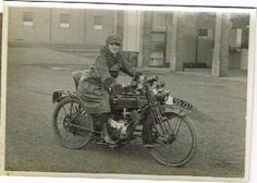 old motorcycle 1918