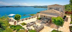 This luxury villa in north east Corfu is located on a beautiful, privately owned five acre headland, one of the island's jewels and home to The Kassiopia Estate.    With its spectacular views, beautiful landscaped grounds surrounded by sea and sky, the Estate provides the perfect setting for a truly unforgettable experience.    Atolikos House is a fabulous home and a place where one can totally relax.