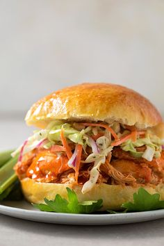 These Instant Pot Buffalo Chicken Sliders are perfect for game day or any day! Full of flavor and topped with a tangy homemade coleslaw. Don't mind me, I'm just trying to dust off some cobwebs over here. This summer has been great but hard. Having 3 little kids at home 24/7 is like playing a …