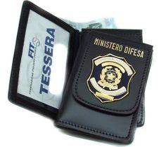 Marina Militare - Portafoglio con Distintivo Ministero della Difesa 1WD106 (Codice: 81110827)