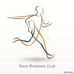 Resultado de imagem para running logo