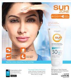 Combate el sol, de la mejor manera. #SunZone #Oriflame