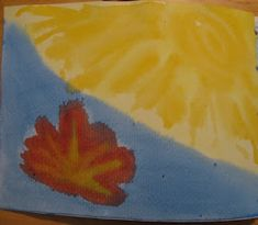 Schooling from the heart: Grade Creation paintings Grade 3, Third Grade, Waldorf Education, Paintings, Heart, Third, The Creation, Watercolor Painting, Will And Testament