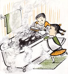 Illustration from Harry - The Dirty Dog  Margaret Bloy Graham