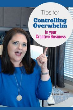 You're not meant to do it all and be all things to all people. But I have some tips for how you can control the overwhelm when running your creative business.