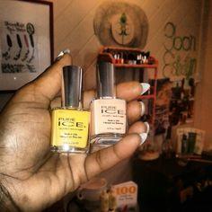 Sweet nail polish