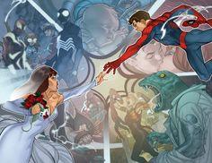 Spiderman & Mary Jane Watson